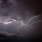 Cloudy Lightning by Marc  Rossmann