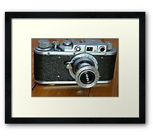photo camera Framed Print