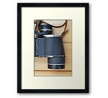 binocular Framed Print