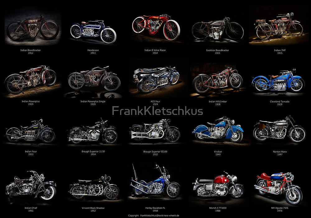 Classic Motorcycles by Frank Kletschkus