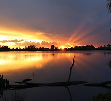 Sunset serenity by Melani