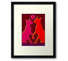 Whats New Pussy Cat Framed Print
