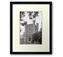 Northern Clock Face—Government House, Hobart Framed Print