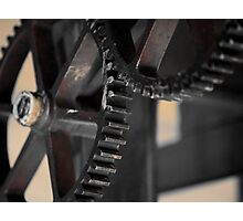 Gear wheels Photographic Print