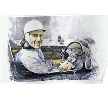 Stirling Moss Poster