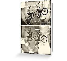 Extreme sports bike Greeting Card