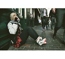 Downtime. (Soho, London) Photographic Print