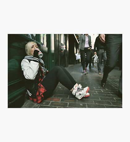 Downtime. (Soho, London) Photographic Print