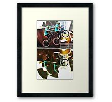 Extreme sports bike Framed Print