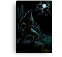 Howl of the Werewolf Canvas Print