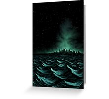 R'lyeh Greeting Card