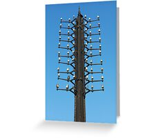 oldest telegraph pole Greeting Card