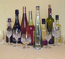 ONE GLAS FOR EACH BOTTLE by Heidi Mooney-Hill