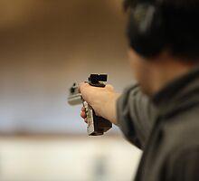 Man with a pistol   by mrivserg
