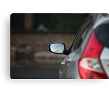 Car Rear View Mirror     Canvas Print
