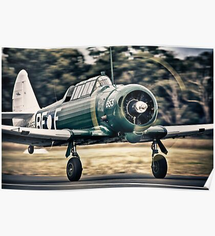 CAC Wirraway Poster