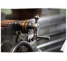 turning lathe Poster