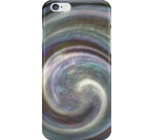 faux iridescent shell iPhone Case/Skin