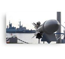 missile Metal Print