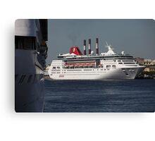 cruise Ship Canvas Print