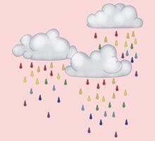 Rainbow rain One Piece - Long Sleeve