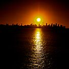 SUNSET SYDNEY by normanorly