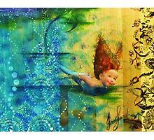 Mermaid Girl Photographic Print