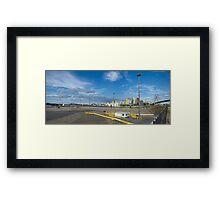 Johnstons Wharf (Hyundai Wharf) Framed Print