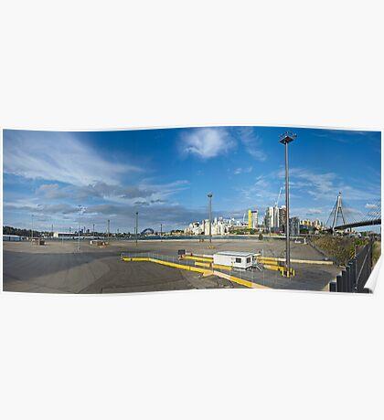 Johnstons Wharf (Hyundai Wharf) Poster
