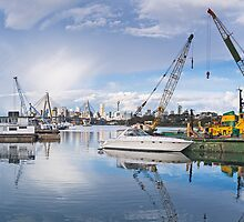 Rozelle Bay Maritime Services by Rene Vogelzang