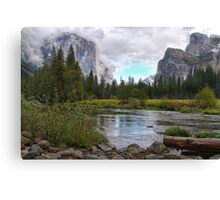 Yosemite, California, USA HDR Canvas Print