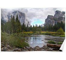 Yosemite, California, USA HDR Poster