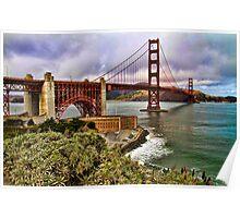 The Golden Gate Bridge, San Francisco, USA Poster