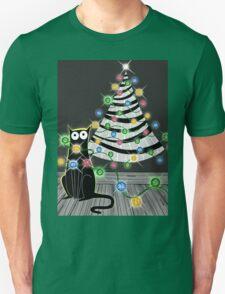 Paper Christmas Tree Unisex T-Shirt