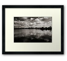 Witney Lake Framed Print