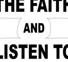 Northern Soul Keep the Faith Sticker
