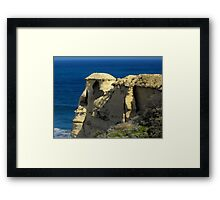 Shaped by Time Framed Print