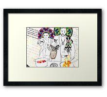 Ngola Framed Print