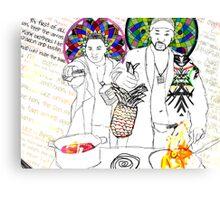 Ngola Canvas Print