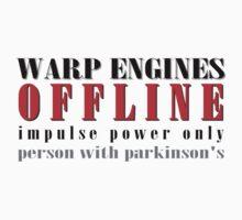 warp engine offline, impulse power only by klimse