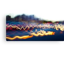 Side street Speed Canvas Print