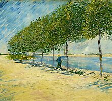 Vincent Van Gogh - Along the Seine by lifetree