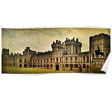 Windsor Castle Upper Ward Poster