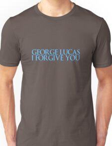 George Lucas, I forgive you. Unisex T-Shirt