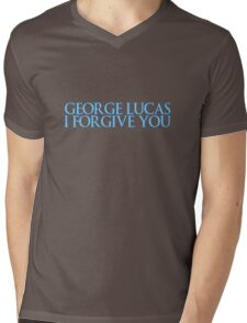George Lucas, I forgive you. Mens V-Neck T-Shirt