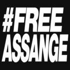 #FREE ASSANGE by philbotic