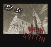 Mein gott!! UFO's uber Wien!! UFO's over Vienna!! by funkyworm