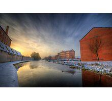River Sunrise Photographic Print