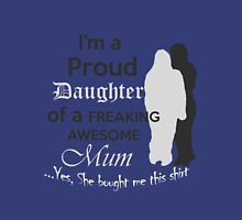 Awesome mum 2 Womens Fitted T-Shirt