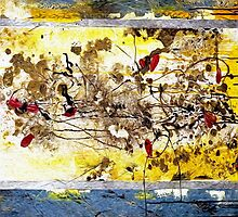 Splash of Color Oil Painting 2 by Fred Seghetti
